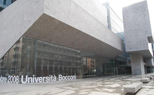 Inaugurata l universit bocconi almanacco for Sede bocconi milano