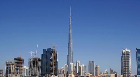 Inaugurato il grattacielo pi alto del mondo almanacco for Grattacielo piu alto del mondo