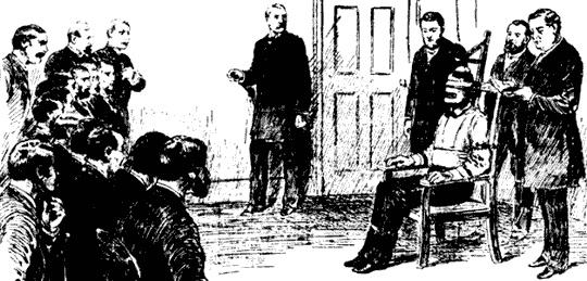 Primo condannato alla sedia elettrica almanacco for Morte con sedia elettrica