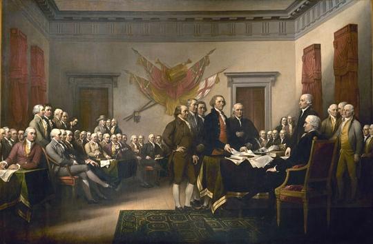 237 anni fa… Nascevano gli Stati Uniti d'America.