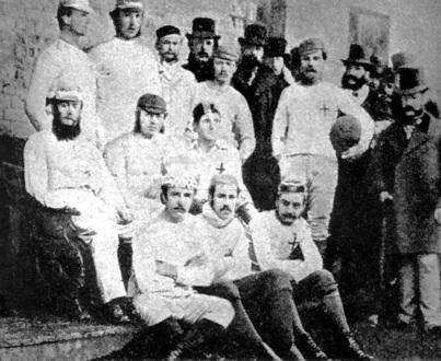 La prima partita ufficiale di calcio almanacco for Sono due in una partita di calcio