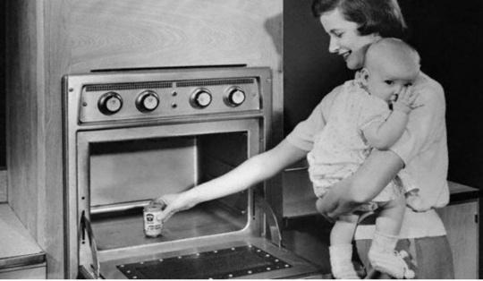 primo forno a microonde domestico almanacco