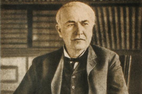 inventore della lampadina : Biografia: Thomas Edison - Almanacco